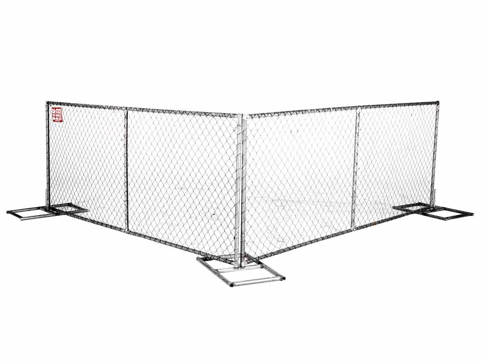 chain link fence rental