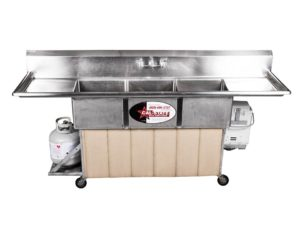 3 Compartment Hot Sinks