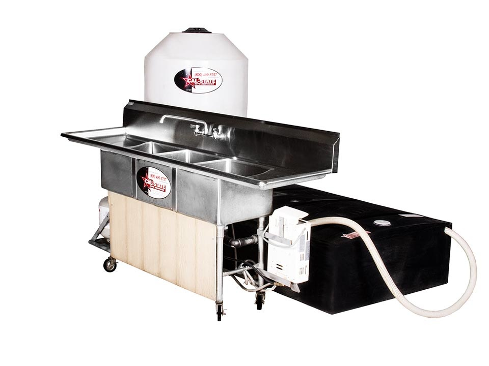 cal-state 3 compartment hot sink rental 04
