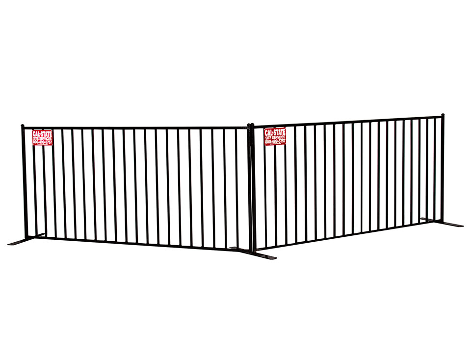 cal-state iron fence rental 01