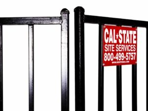 cal-state iron fence rental 03