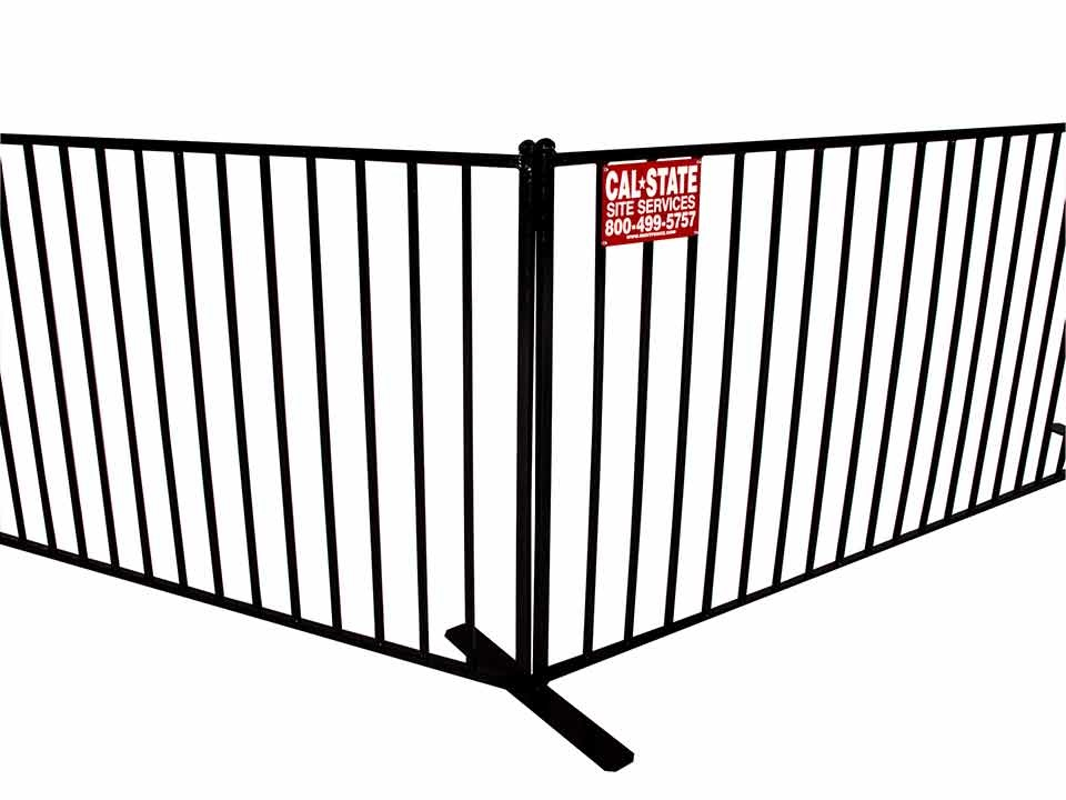 cal-state iron fence rental 06