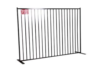 cal-state iron fence rental 05