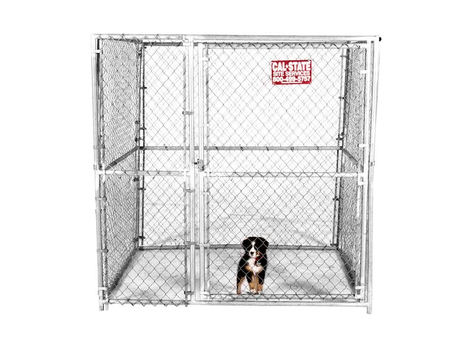 Chain Link Animal Kennels for Rent
