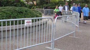 barricade rental services