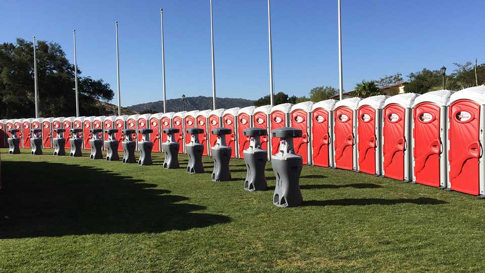 portable toilet rentals in Santa Barbara, CA
