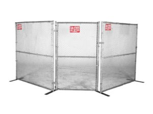 chainlink fence gate rental 01
