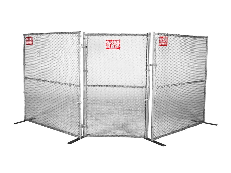 chainlink fence gate rental 01