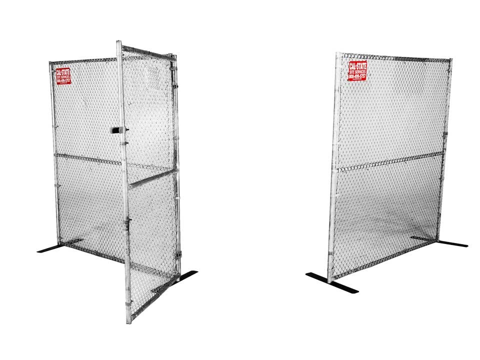 chainlink fence gate rental 02
