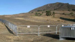 construction barrier rental services