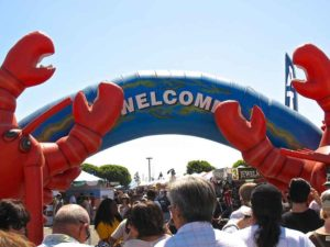 lobsterfest festival fence rentals