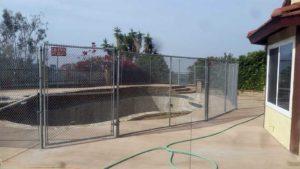 mini mesh fence rental services