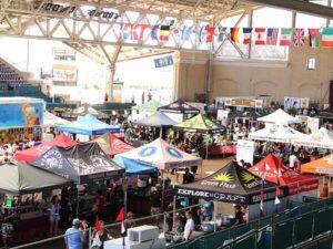 beer festival barricades