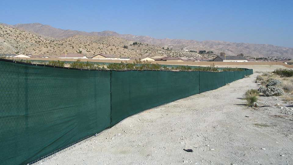 screen fence rental services